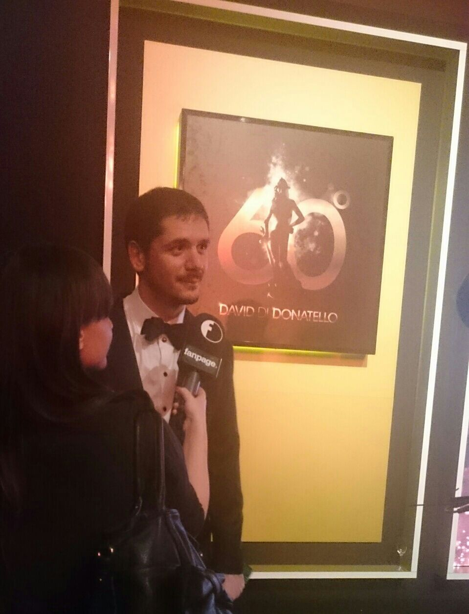 Red carpet _ David di Donatello 2016 Gabriele Mainetti